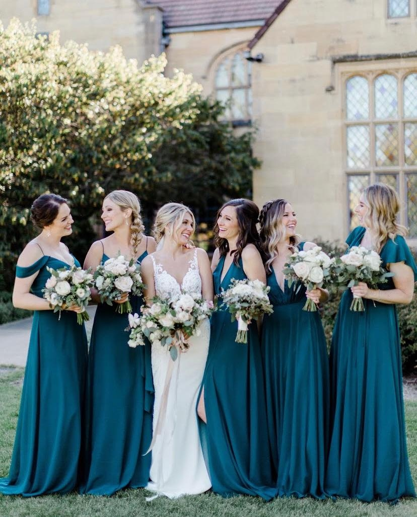 blue bridesmaids 2